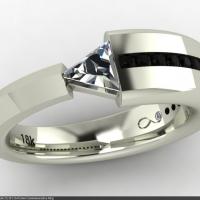 Style CU101 :: Civil Union Commemorative Ring