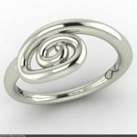 Style R502 :: Children's Swirl Ring