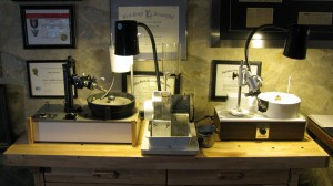 The Gem Cutting Lab at Denney Jewelers